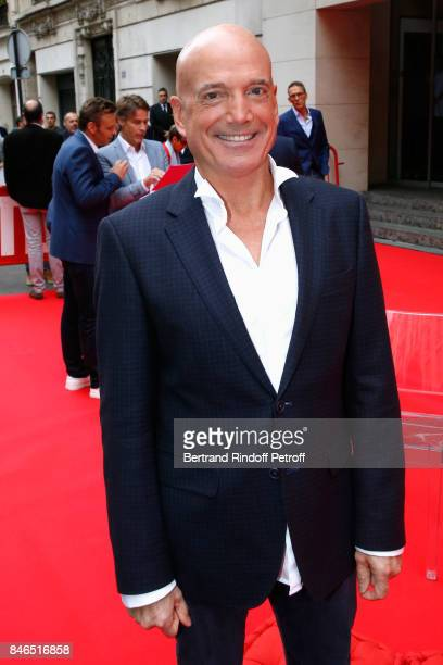 Louis Bodin attends the RTL RTL2 Fun Radio Press Conference to announce their TV Schedule for 2017/2018 at Elysee Biarritz at Cinema Elysee Biarritz...