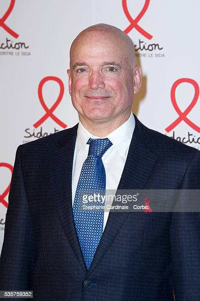 Louis Bodin attends the Sidaction 2012 Press Conference at Musee du quai Branly in Paris