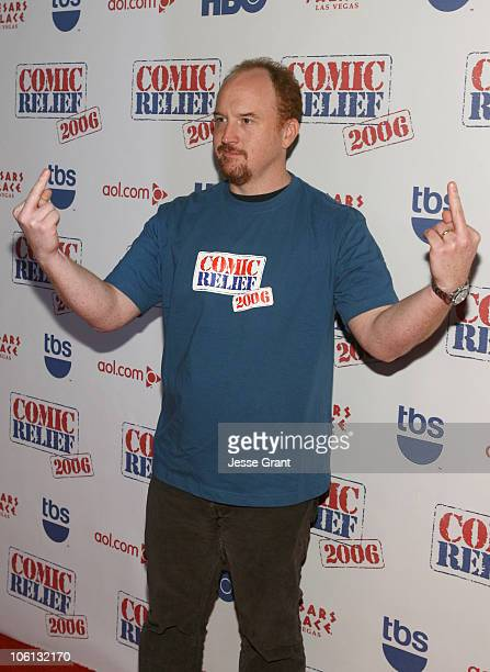 Louis CK 12699_JG_543jpg during TBS 'Comic Relief 2006' Red Carpet at Caesars Palace in Las Vegas Nevada United States