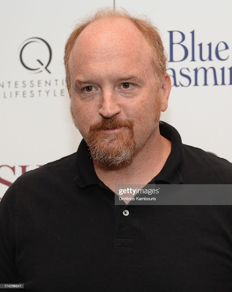 <a gi-track='captionPersonalityLinkClicked' href=/galleries/search?phrase=Louis+C.K.&family=editorial&specificpeople=2538284 ng-click='$event.stopPropagation()'>Louis C.K.</a> attends the 'Blue Jasmine' New York Premiere at the Museum of Modern Art on July 22, 2013 in New York City.