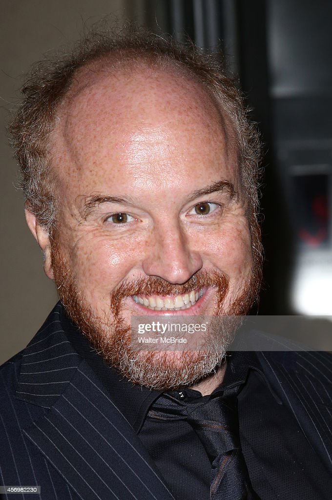 Louis CK attends the Broadway Opening Night Performance After Party for 'It's Only A Play' at the Mariott Marquis on October 9, 2014 in New York City.