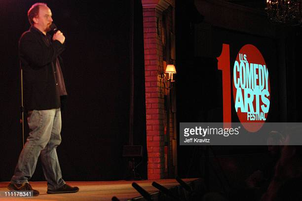 Louis CK during The 10th Annual US Comedy Arts Festival Day One at St Regis Hotel in Aspen Colorado United States