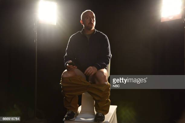 LIVE 'Louis CK' Episode 1721 Pictured Host Louis CK during the 'Tribute Song' sketch on April 8 2017