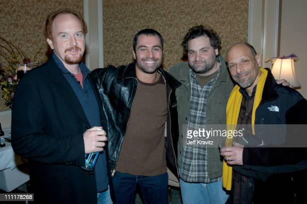 Louis CK Joe Rogan Artie Lange and Richard Schimme *Exclusive*