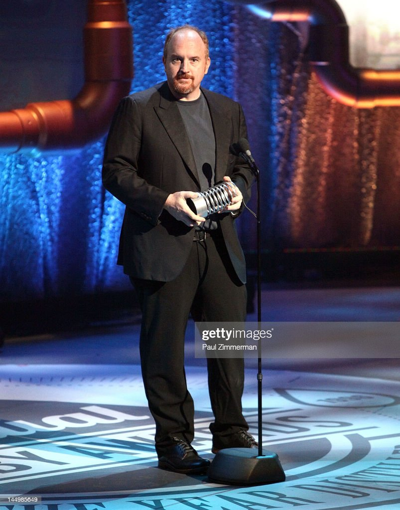 Louis CK speaks at the 16th Annual Webby Awards at Hammerstein Ballroom on May 21, 2012 in New York City.