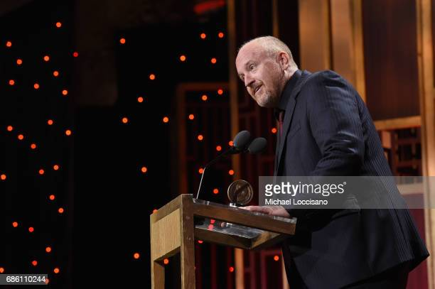 Louis CK speaks on stage during The 76th Annual Peabody Awards Ceremony at Cipriani Wall Street on May 20 2017 in New York City