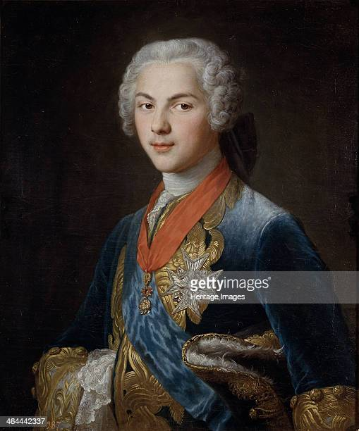 Louis Dauphin of France son of King Louis XV c 1745 Found in the collection of the Museo del Prado Madrid