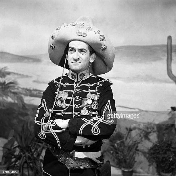 Louis de Funes in the comedy ''Fraternity'' realized by Rene Lucot according to Fernand Fleuret's play