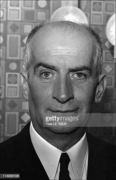 Louis de Funes opens the new discotheque 'Village' in Paris France on May 07 1969Portrait of Louis de Funes