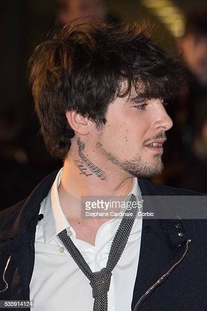 Louis Delort attends the 15th NRJ Music Awards at Palais des Festivals in Cannes