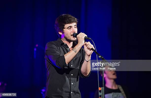 Louis Delort from Louis Delort and The Sheperds performs at Le Trianon on October 9 2014 in Paris France