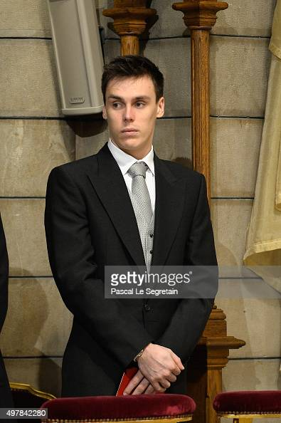 Louis Ducruet attends a mass at the Cathedral of Monaco during the official ceremonies during the Monaco National Day Celebrations on November 19...