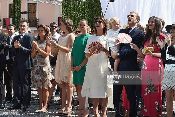 Louis DucruetPrincess Stephanie of Monaco Camille Gottlieb Pauline Ducruet Princess Caroline of HanoverAndrea Casiraghi with Sasha and Tatiana...