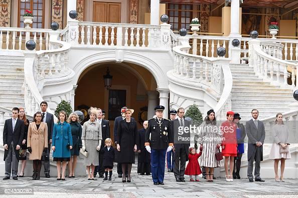 Louis DucruetPrincess Stephanie of Monaco Princess Alexandra of HanoverPrincess Caroline of HanoverSacha CasiraghiPrincess Charlene of MonacoPrince...