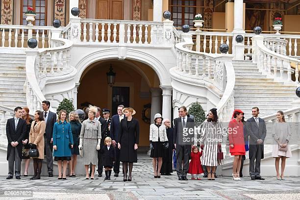 Louis DucruetPrincess Stephanie of Monaco Princess Alexandra of Hanover Princess Caroline of Hanover Sacha Casiraghi Princess Charlene of Monaco...