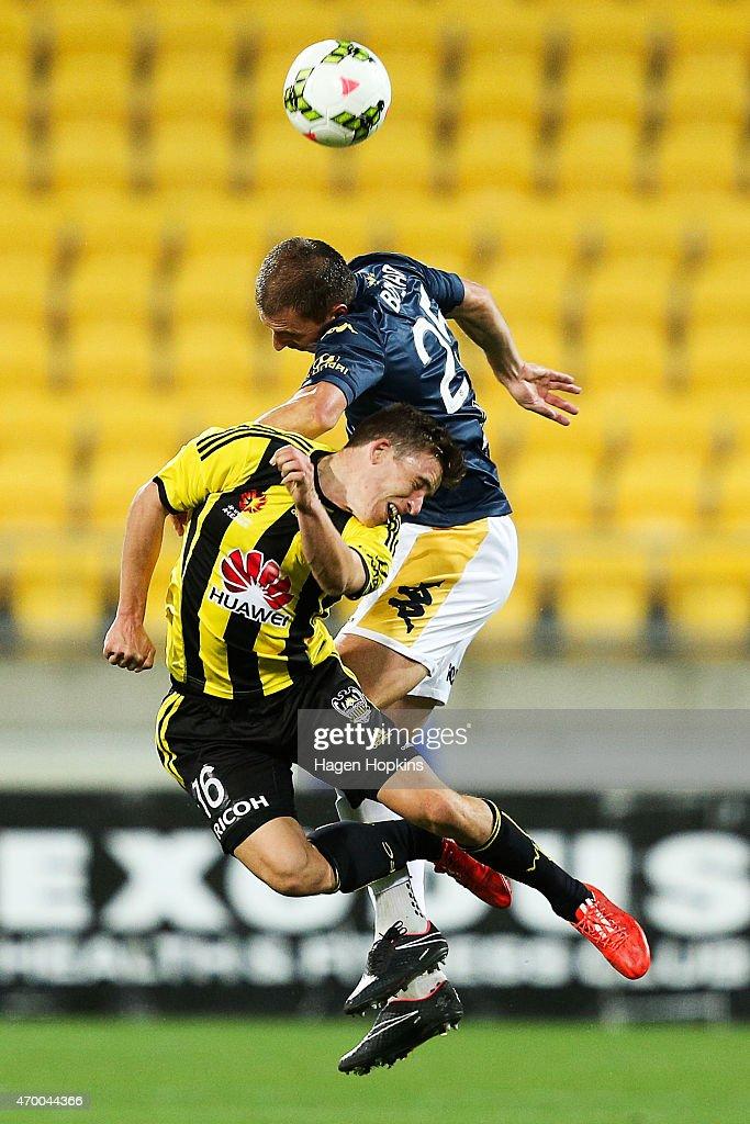 A-League Rd 26 - Wellington v Central Coast
