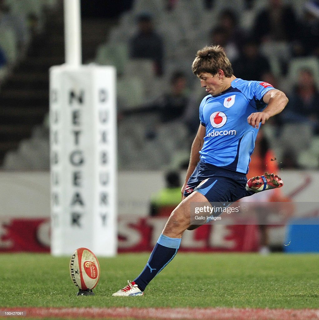 Louis Fouche of the Blue Bulls during the Absa Currie Cup match between Toyota Free State Cheetahs and Vodacom Blue Bulls at Free State Stadium on August 17, 2012 in Bloemfontein, South Africa.