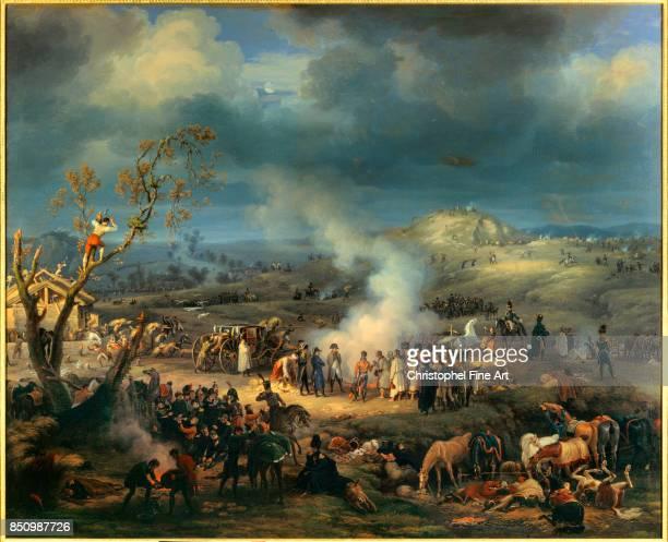 Louis Francois Lejeune Napoleon I Visiting a Bivouac on the Eve of the Battle of Austerlitz December 1st 1805 1808 Oil on canvas 180 x 220 m...