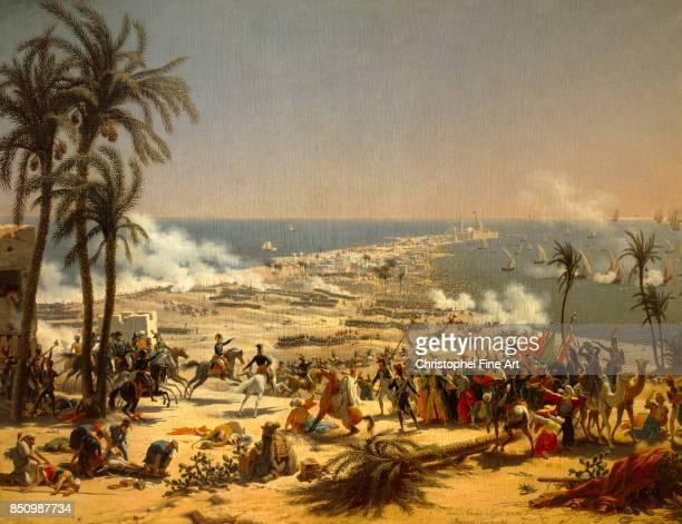 Louis Francois Lejeune The Battle of Aboukir July 27th 1799 Oil on canvas 185 x 255 m Versailles Chateaux de Versailles et de Trianon