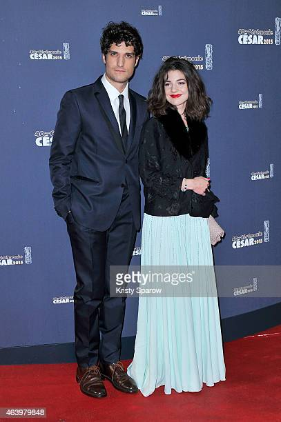 Louis Garrel and Esther Garrel attend the 40th Cesar Film Awards at Theatre du Chatelet on February 20 2015 in Paris France