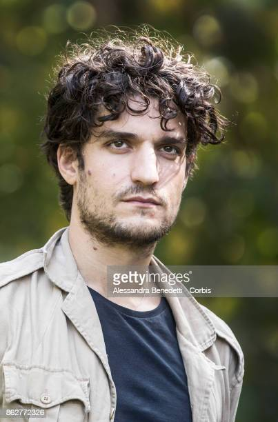 Louis Garrel attends a photocall for 'Redoubtable ' on October 18 2017 in Rome Italy