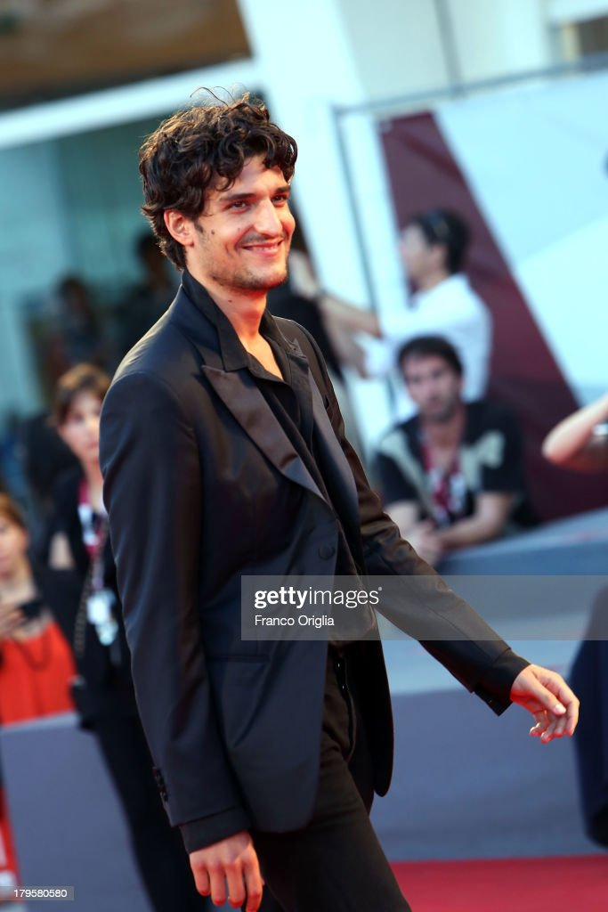 <a gi-track='captionPersonalityLinkClicked' href=/galleries/search?phrase=Louis+Garrel&family=editorial&specificpeople=868484 ng-click='$event.stopPropagation()'>Louis Garrel</a> attends the 'Jealousy' Premiere during the 70th Venice International Film Festival at the Palazzo del Cinema on September 5, 2013 in Venice, Italy.