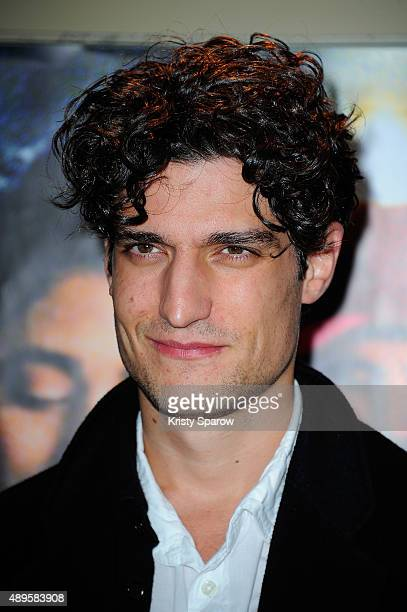 Louis Garrel attends the 'Les Deux Amis' Paris Premiere at UGC Cine Cite des Halles on September 22 2015 in Paris France