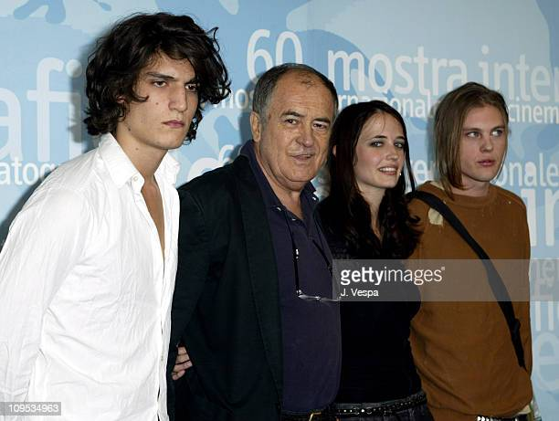 Louis Garrel Director Bernardo Bertolucci Eva Green and Michael Pitt