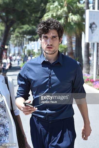 Louis Garrel is seen on day 6 of the 68th annual Cannes Film Festival on May 18 2015 in Cannes France