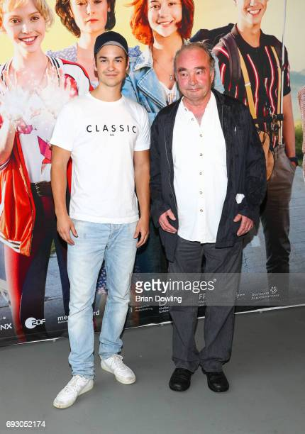 Louis Held attends the Bibi and Tina photo call and award reception at Atelier on June 6 2017 in Berlin Germany