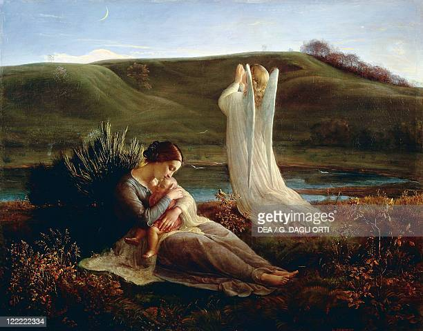 Louis Janmot The Angel and the Mother