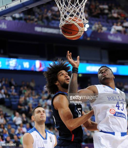 Louis Labeyrie France Thanasis Antetokounmpo of Greece during the FIBA Eurobasket 2017 Group A match between Greece and France on September 2 2017 in...
