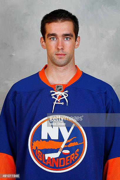 Louis Leblanc of the New York Islanders poses for his official headshot for the 20152016 season on September 17 2015 at the Nassau Coliseum in...