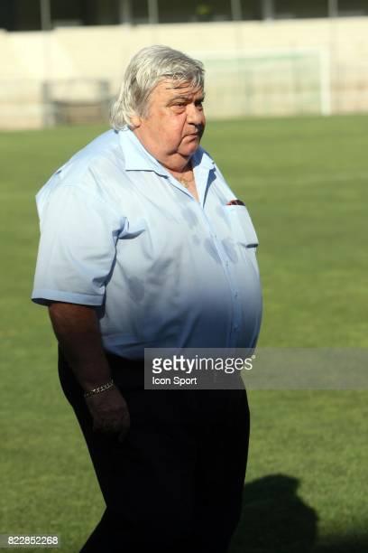 Louis NICOLLIN Entrainement de Montpellier Stade de la Mosson
