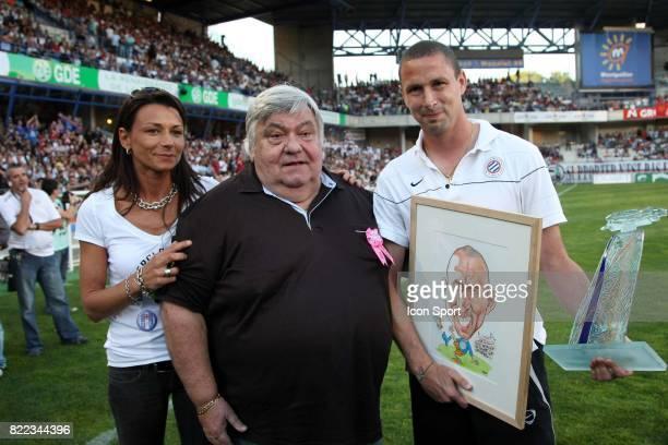 Louis NICOLLIN / Fin de carriere de Bruno CAROTTI Montpellier / Strasbourg 38e journee de Ligue 2 Montpellier
