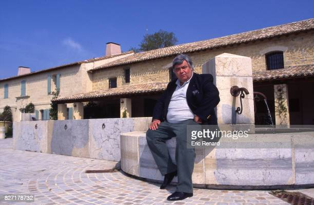 Louis Nicollin president of Montpellier during a photoshoot in Montpellier France on 10th April 1996