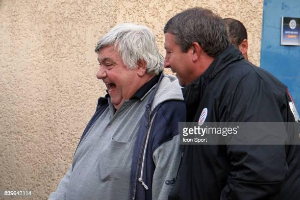 Louis NICOLLIN / Rolland COURBIS Nouvel entraineur de Montpellier pour les quatre derniers matchs de la saison Entrainement Montpellier