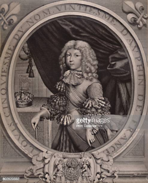 Louis of France Grand Dauphin as a child 17th century From A Collection of Engraved Portraits Exhibited by the Late James Anderson Rose at the...
