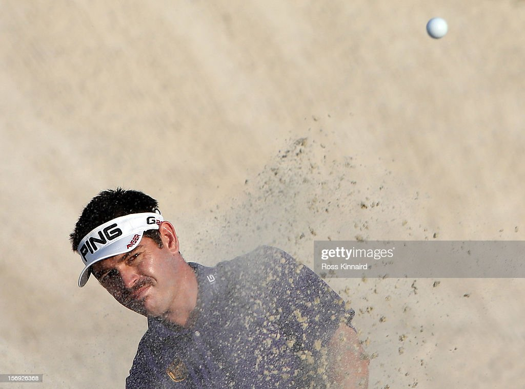Louis Oosthuizen of South Africa during the final round the DP World Tour Championship on the Earth Course at Jumeirah Golf Estates on November 25, 2012 in Dubai, United Arab Emirates.