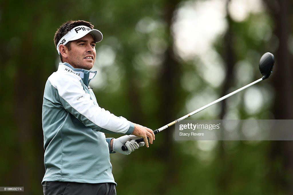Louis Oosthuizen of South Africa hits his tee shot on the sixth hole during the second round of the Shell Houston Open at the Golf Club of Houston on April 1, 2016 in Humble, Texas.