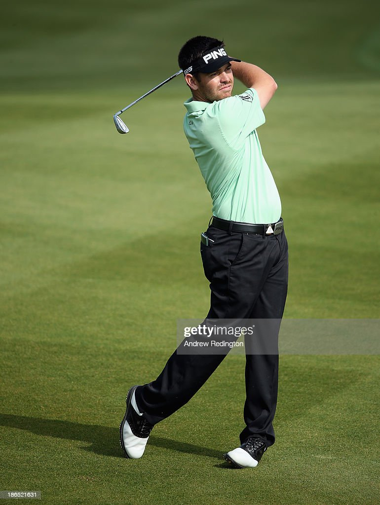 Louis Oosthuizen of South Africa in action during the second round of the WGC - HSBC Champions at the Sheshan International Golf Club on November 1, 2013 in Shanghai, China.
