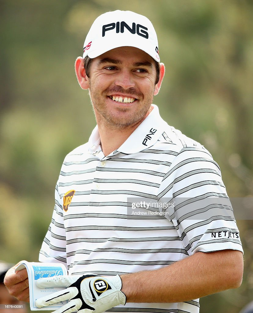 <a gi-track='captionPersonalityLinkClicked' href=/galleries/search?phrase=Louis+Oosthuizen&family=editorial&specificpeople=241573 ng-click='$event.stopPropagation()'>Louis Oosthuizen</a> of South Africa in action during the third round of the Ballantine's Championship at Blackstone Golf Club on April 27, 2013 in Icheon, South Korea.