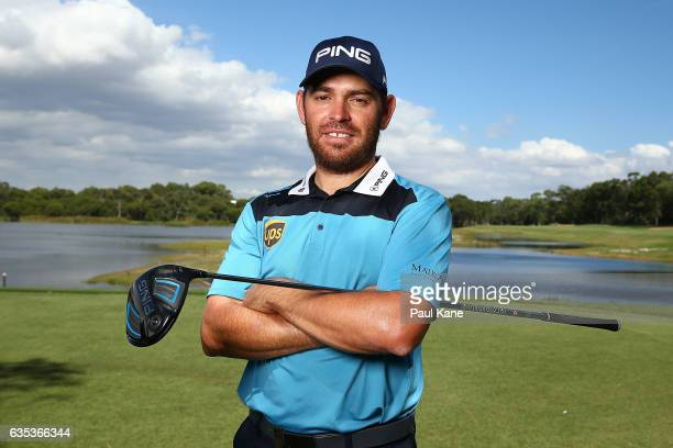 Louis Oosthuizen of South Africa poses during previews ahead of the ISPS HANDA World Super 6 Perth at Lake Karrinyup Country Club on February 15 2017...