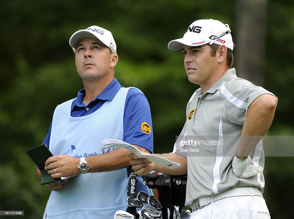 <a gi-track='captionPersonalityLinkClicked' href=/galleries/search?phrase=Louis+Oosthuizen&family=editorial&specificpeople=241573 ng-click='$event.stopPropagation()'>Louis Oosthuizen</a> of South Africa waits to play the eighth hole during the second round of the Deutsche Bank Championship at TPC Boston on September 1, 2012 in Norton, Massachusetts.