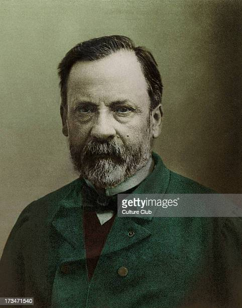 Louis Pasteur portrait French chemist biologist and founder of modern bacteriology 27 December 1822 28 September 1895