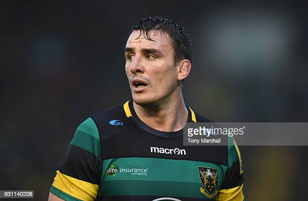 Louis Picamoles of Northampton Saints during the Aviva Premiership match between Northampton Saints and Bristol Rugby at Franklin's Gardens on...