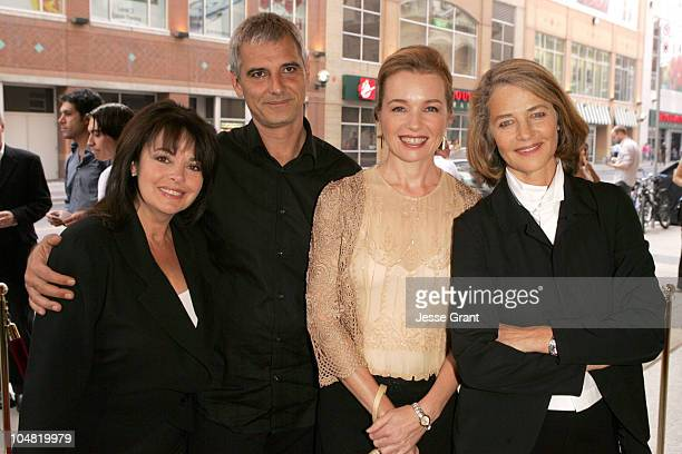 Louis Portal Laurent Cantet Karen Young and Charlotte Rampling