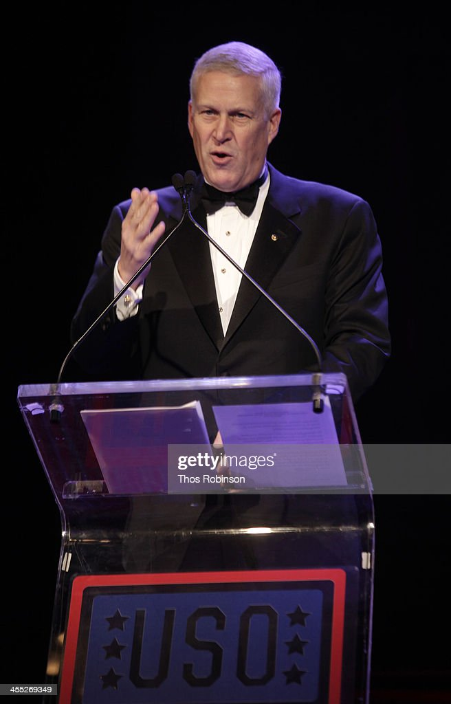 Louis R. Chenevert, chairman and CEO of United Technologies attends 52nd USO Armed Forces Gala & Gold Medal Dinner at Marriott Marquis Times Square on December 11, 2013 in New York City.