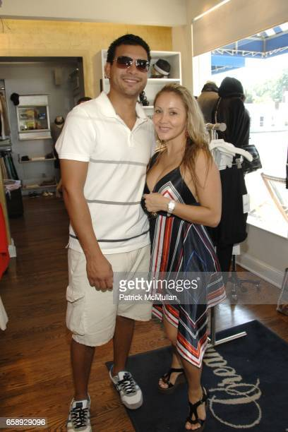 Louis Sarmiento and Diana Pallotta attend SHAWN WARREN Jewelry Trunk Show to Benefit The Cardiovascular Research Foundation at Blue and Cream Store...