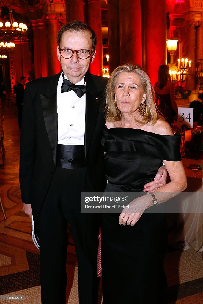 <a gi-track='captionPersonalityLinkClicked' href=/galleries/search?phrase=Louis+Schweitzer&family=editorial&specificpeople=555449 ng-click='$event.stopPropagation()'>Louis Schweitzer</a> and his wife Agnes Schweitzer attend Arop Charity Gala with 'Ballet du Theatre Bolchoi'. Held at Opera Garnier on January 9, 2014 in Paris, France.